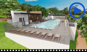 Rock'n Ranch Pool - Virtual Interactive