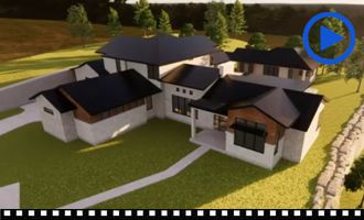 Robinson Residence - Massing Model